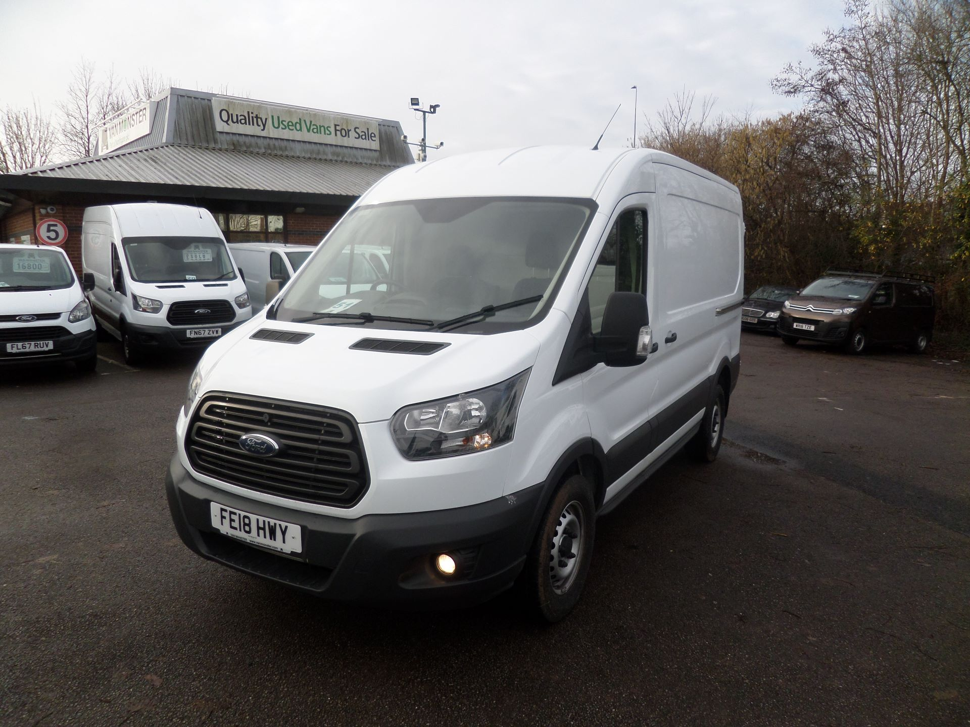 2018 Ford Transit 2.0 Tdci 130Ps MWB/ H2 Van Euro 6 (FE18HWY) Image 9