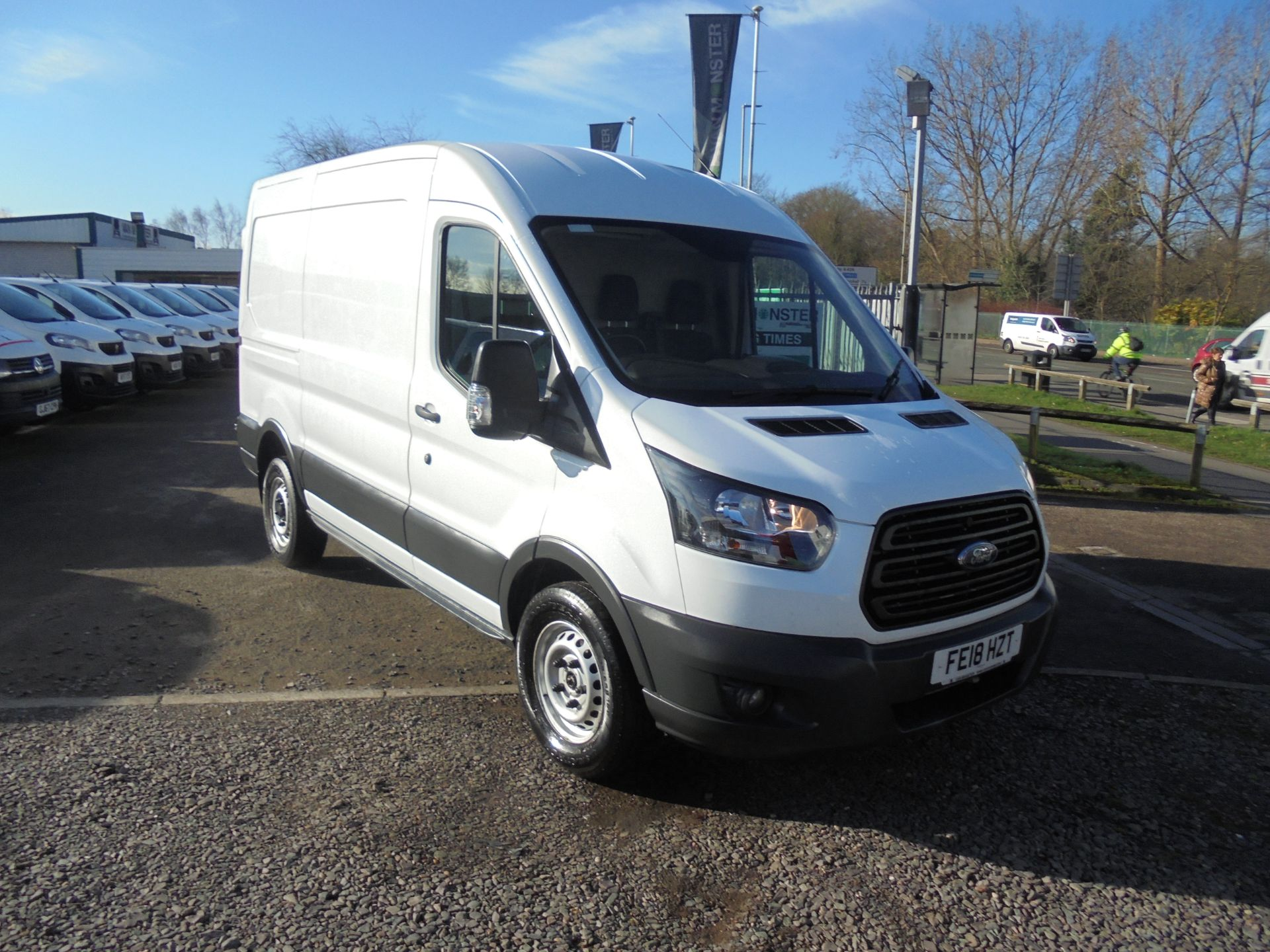 2018 Ford Transit T350 L2 FWD 2.0 TDCI 130PS H2 EURO 6 (FE18HZT)