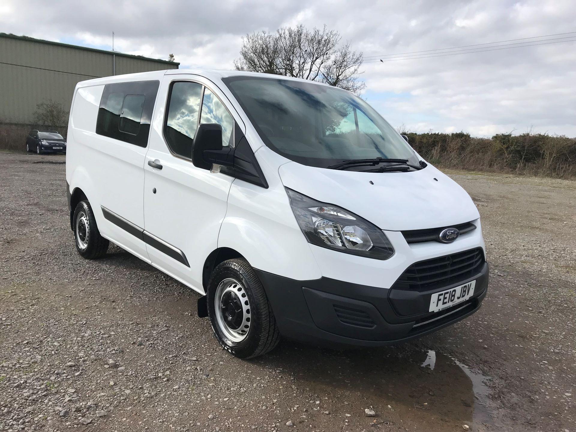 2018 Ford Transit Custom   L1 DIESEL FWD 2.0 130PS LOW ROOF D/CAB VAN EURO 6 (FE18JBV)