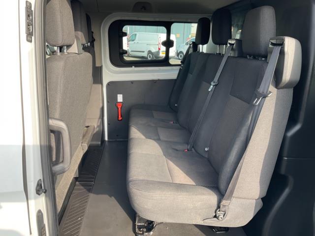 2018 Ford Transit Custom 2.0 Tdci 105Ps Low Roof D/Cab Van (FE18JNX) Image 11