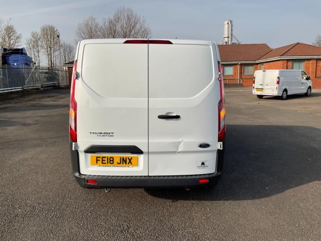2018 Ford Transit Custom 2.0 Tdci 105Ps Low Roof D/Cab Van (FE18JNX) Image 6