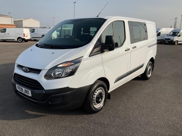 2018 Ford Transit Custom 2.0 Tdci 105Ps Low Roof D/Cab Van (FE18JNX) Image 3