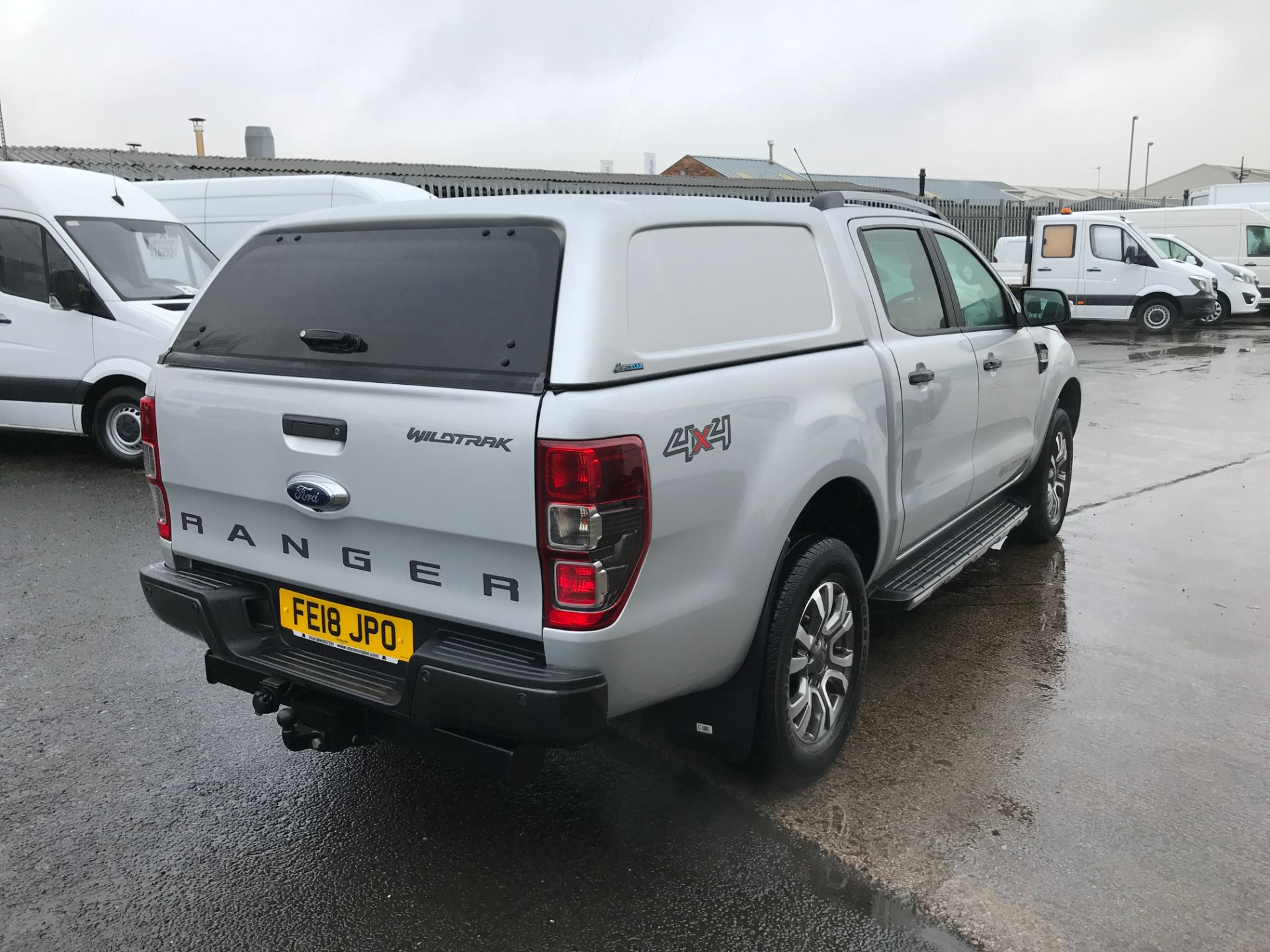 2018 Ford Ranger DOUBLE CAB 4X4 WILDTRAK 3.2TDI 200PS EURO 5 (FE18JPO) Image 8