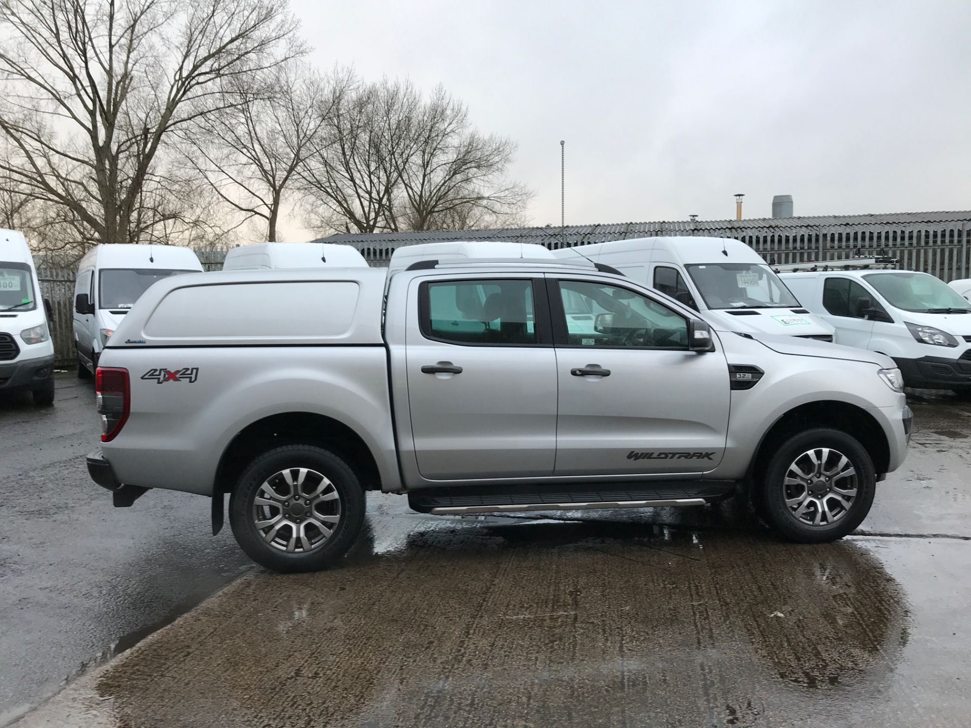 2018 Ford Ranger DOUBLE CAB 4X4 WILDTRAK 3.2TDI 200PS EURO 5 (FE18JPO) Thumbnail 7
