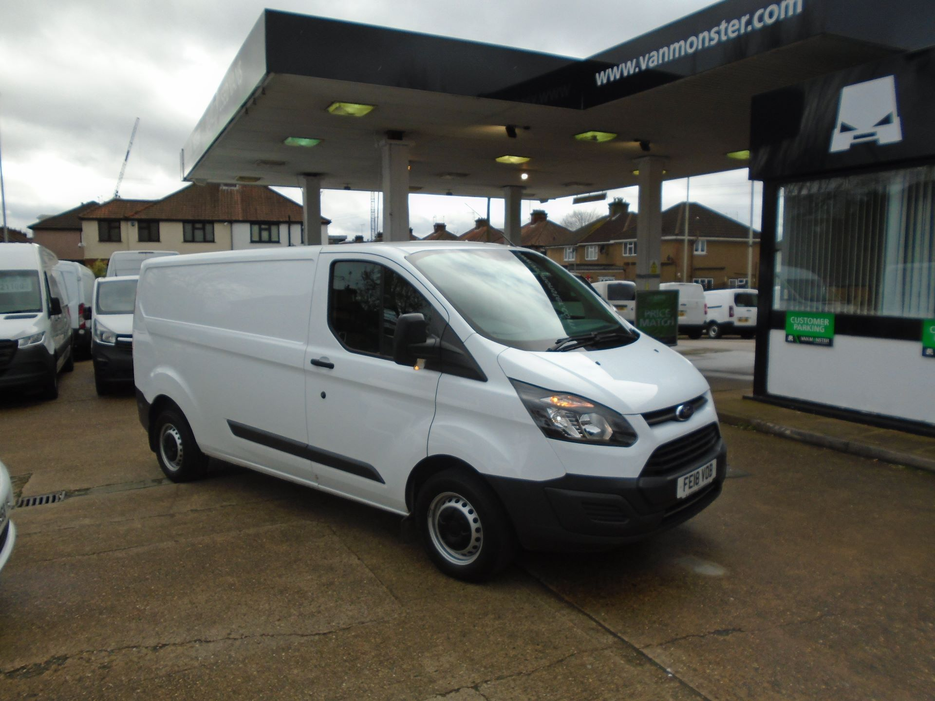 2018 Ford Transit Custom 2.0 Tdci 105Ps Low Roof Van (FE18VOB)