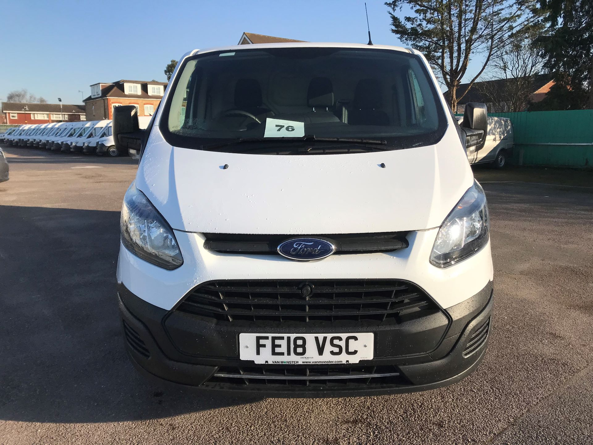 2018 Ford Transit Custom  290 L2 FWD 2.0 TDCI 105PS L/R EURO 6 (FE18VSC) Image 3