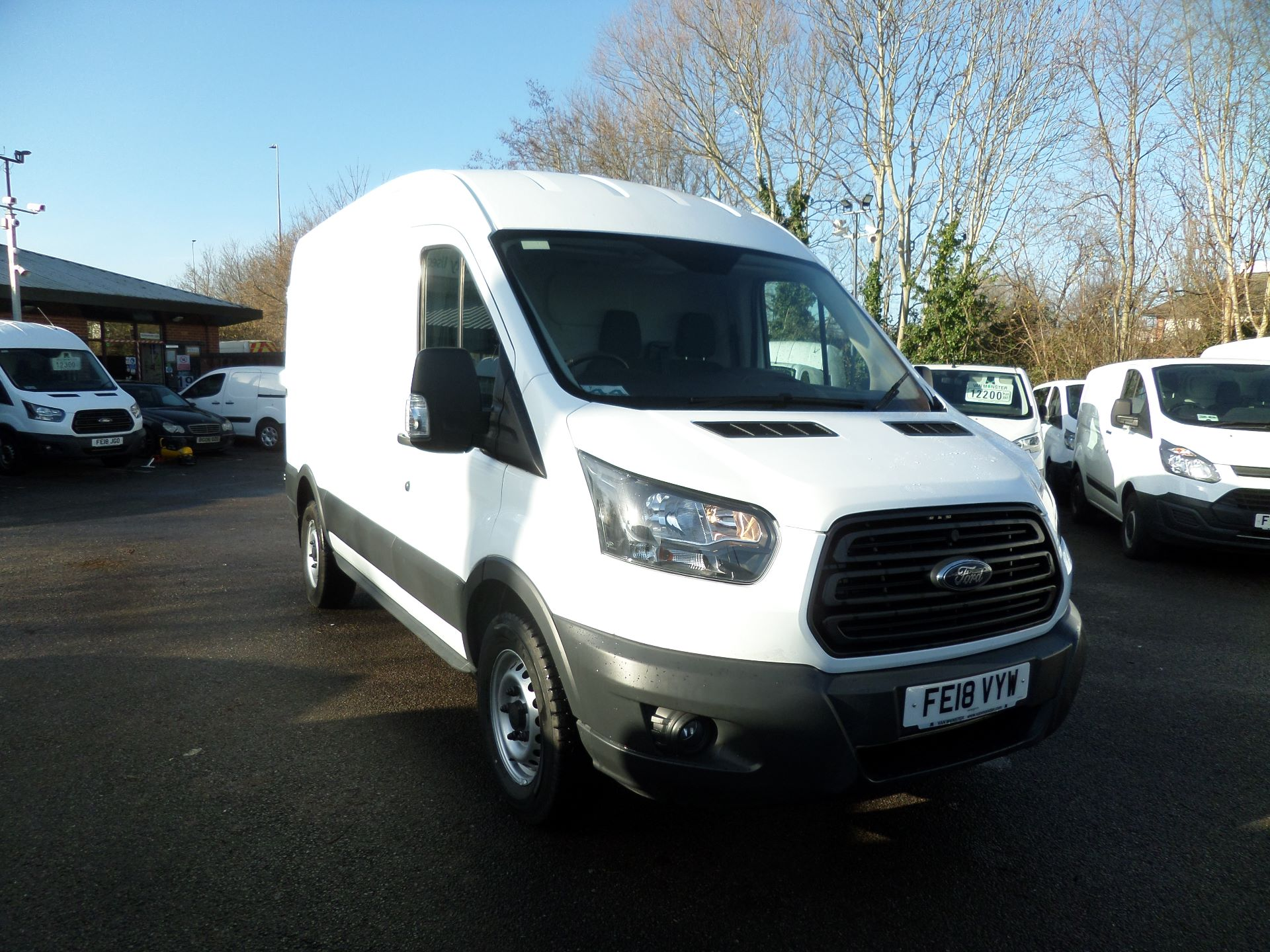 2018 Ford Transit 2.0 Tdci 130Ps H2 Van Euro 6 (FE18VYW)