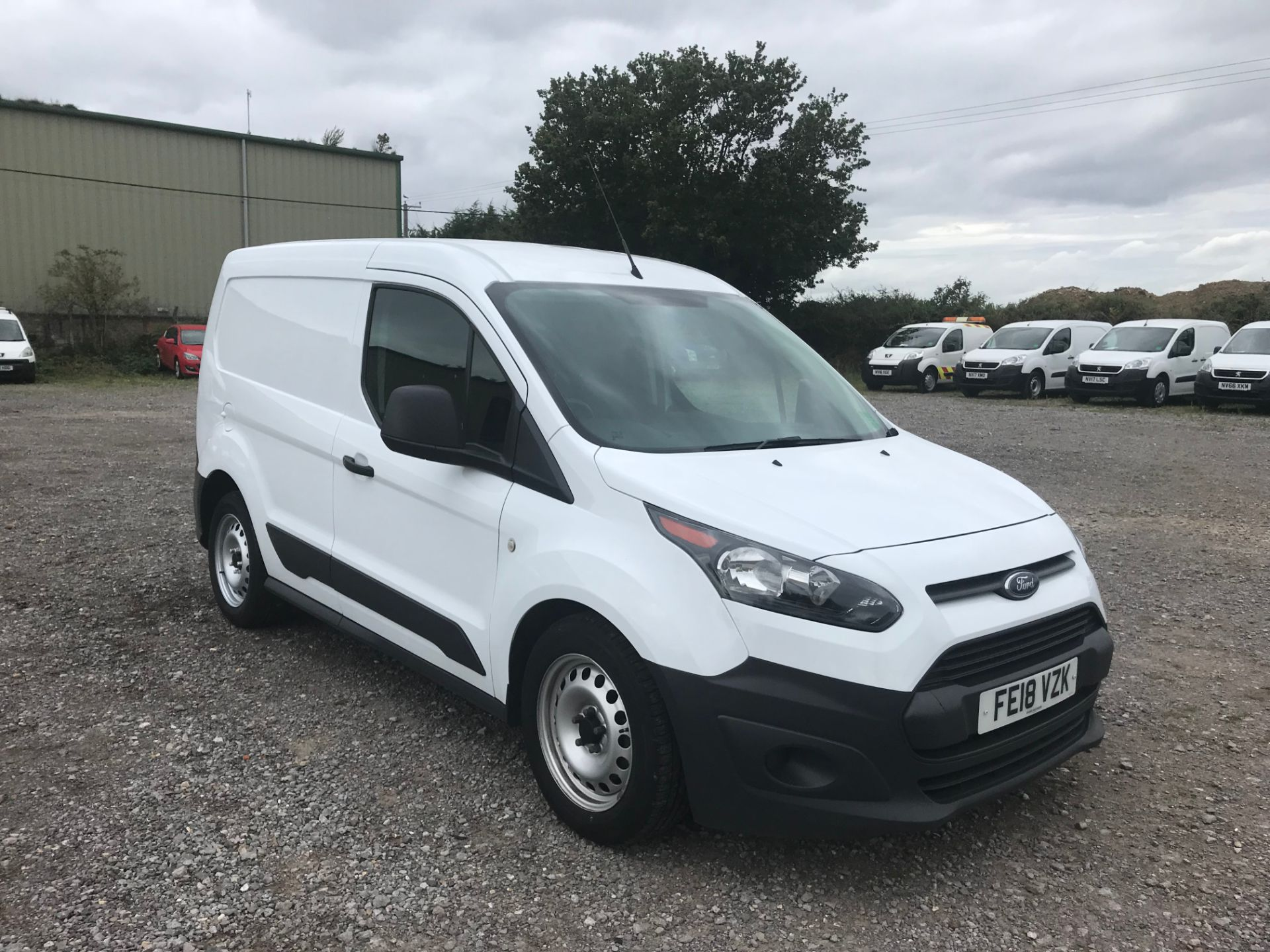 2018 Ford Transit Connect 1.5 Tdci 75Ps Van (FE18VZK)