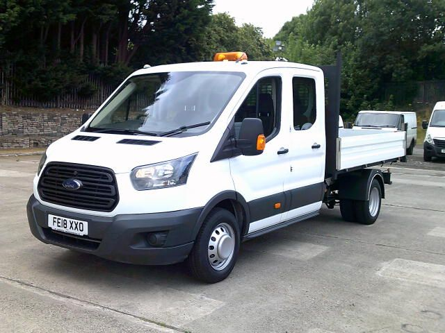 2018 Ford Transit 350 2.0 Tdci 130Ps Double Cab Tipper  (FE18XXO) Image 14