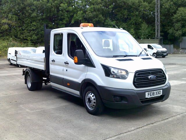 2018 Ford Transit 350 2.0 Tdci 130Ps Double Cab Tipper  (FE18XXO)