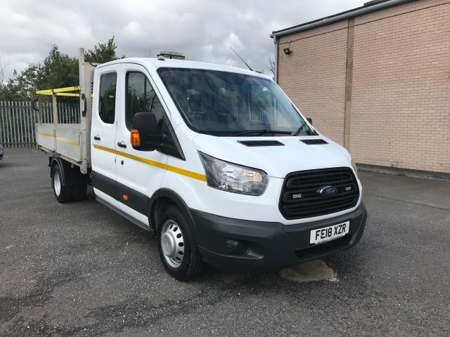 2018 Ford Transit T350 DOUBLE CAB TIPPER 130PS EURO 6 (FE18XZR)