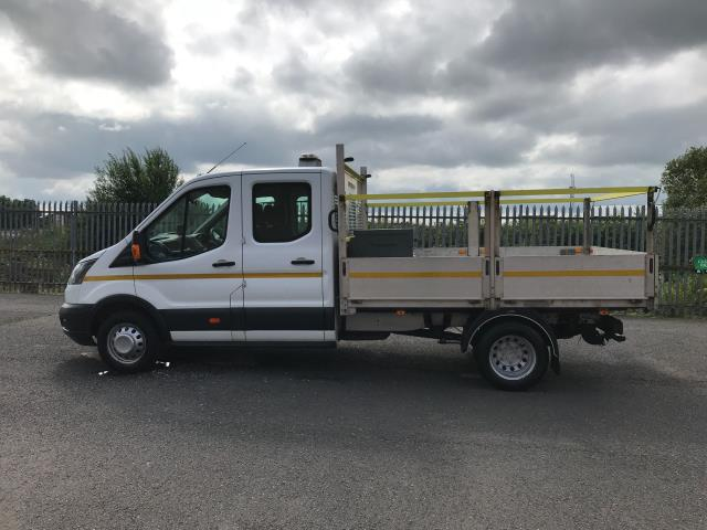 2018 Ford Transit T350 DOUBLE CAB TIPPER 130PS EURO 6 (FE18XZR) Image 6