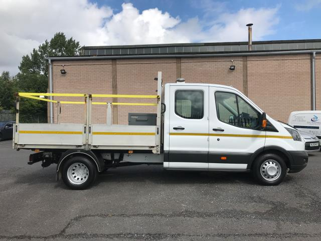 2018 Ford Transit T350 DOUBLE CAB TIPPER 130PS EURO 6 (FE18XZR) Image 5