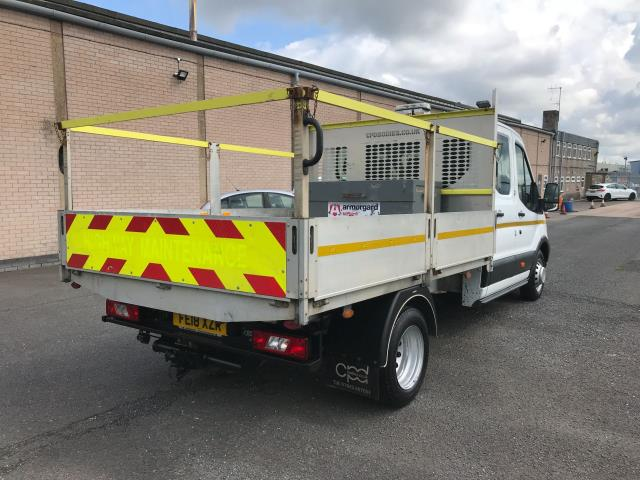 2018 Ford Transit T350 DOUBLE CAB TIPPER 130PS EURO 6 (FE18XZR) Image 3
