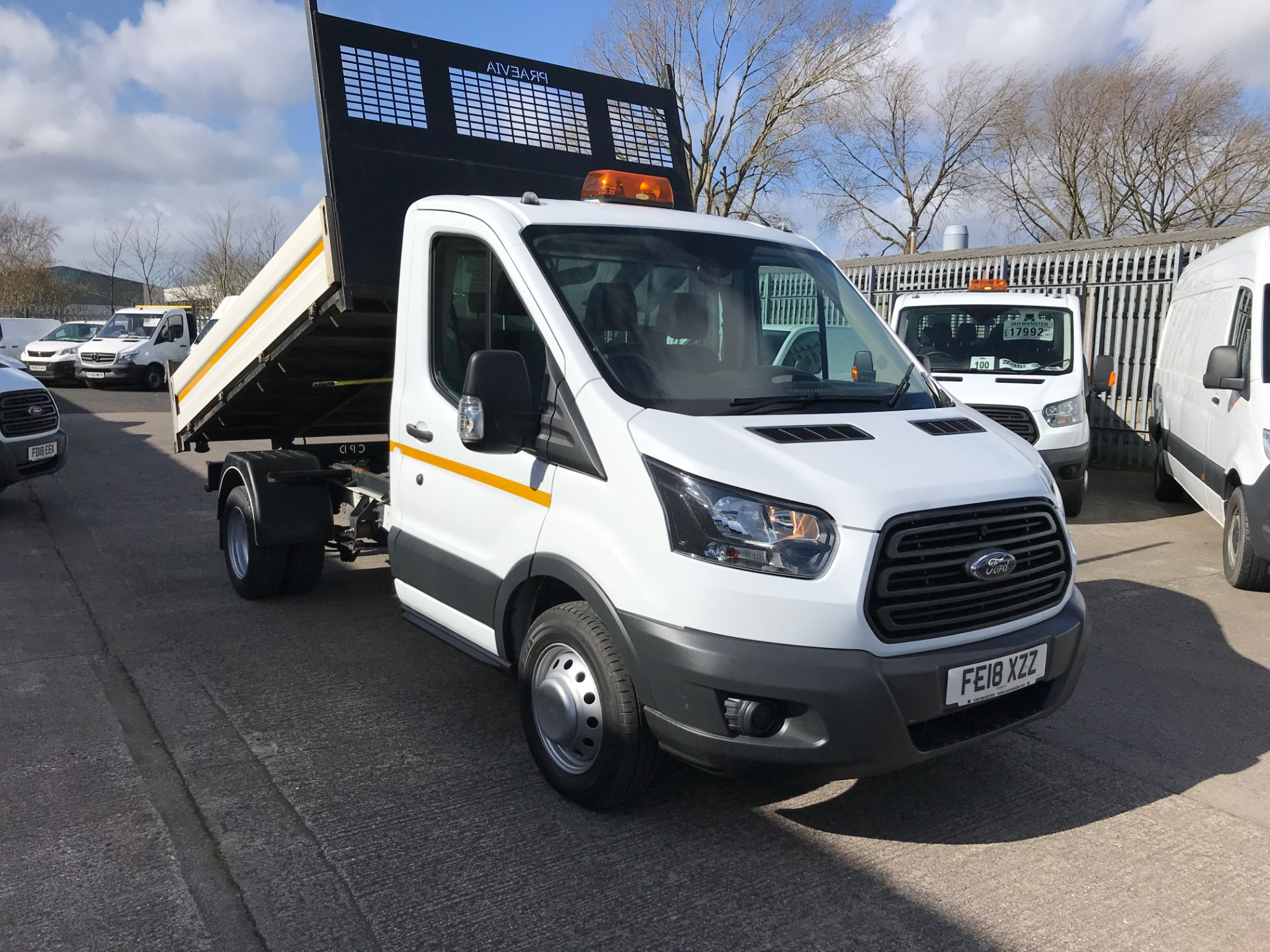 2018 Ford Transit T350 SINGLE CAB TIPPER 130PS EURO 5 (FE18XZZ)