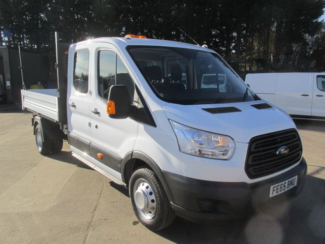 2015 Ford Transit 350 L3 2.2 Tdci 125PS D/Cab Tipper One Stop (FE65BMU)