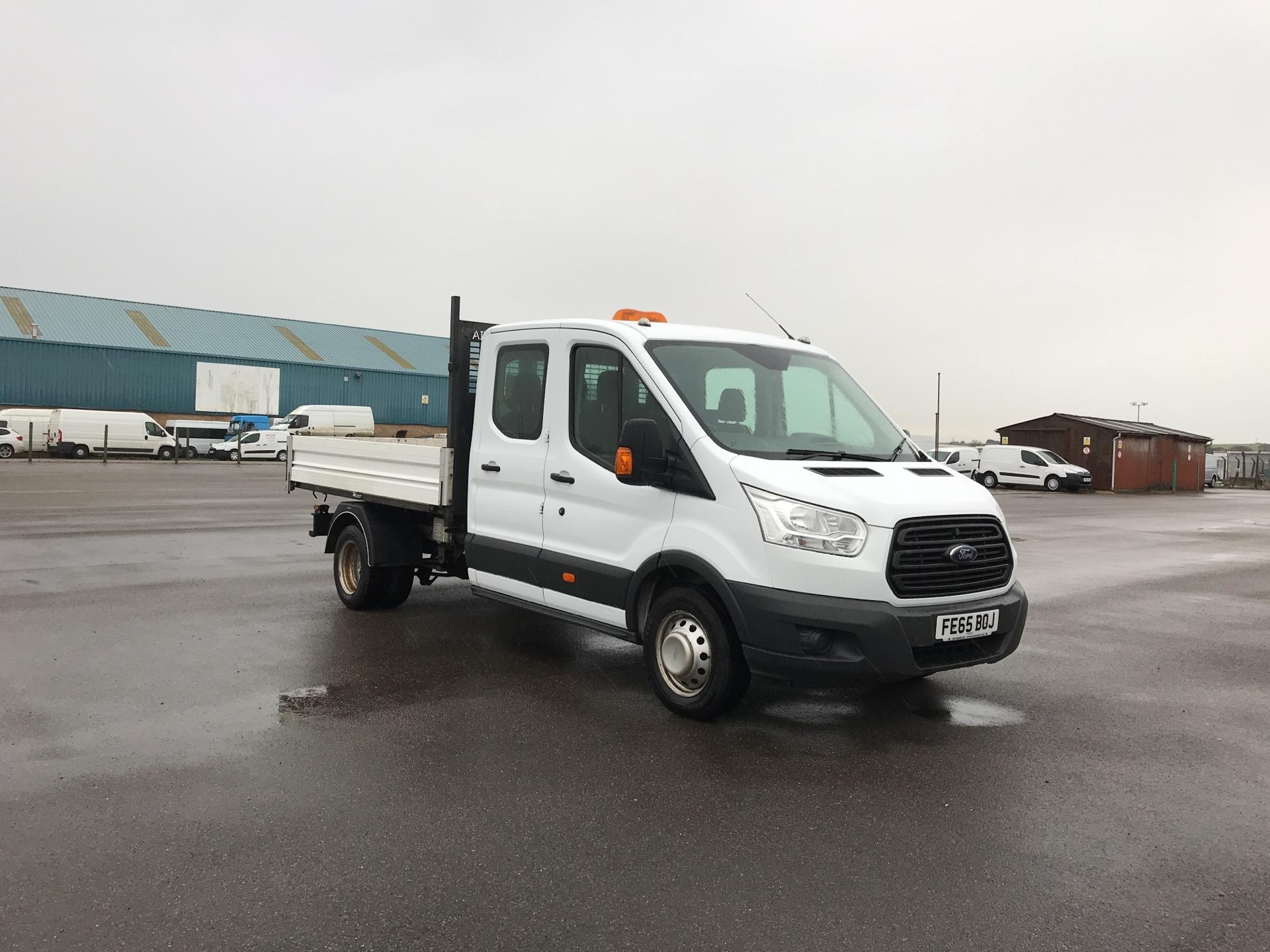 2015 Ford Transit 350 L3 DOUBLE CAB TIPPER 125PS EURO 5 (FE65BOJ)