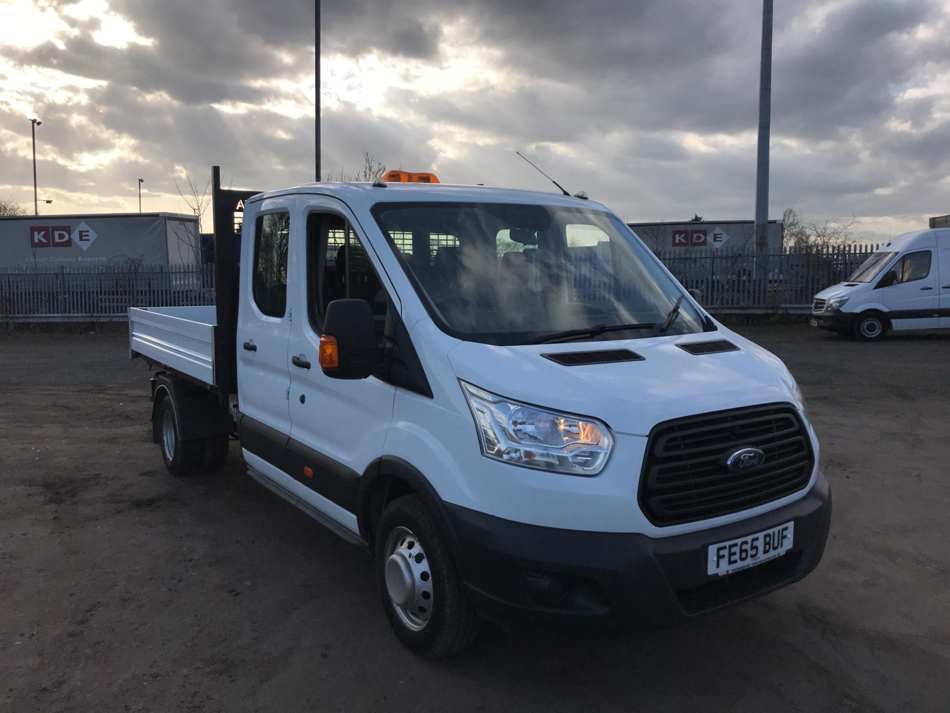 2015 Ford Transit 350 L3 DOUBLE CAB TIPPER 125PS EURO 5 (FE65BUF)