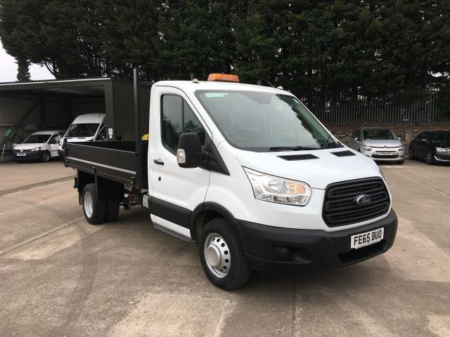a79aa08eb09c97 2015 Ford Transit 350 L2 SINGLE CAB TIPPER 125PS EURO 5 (FE65BUO)