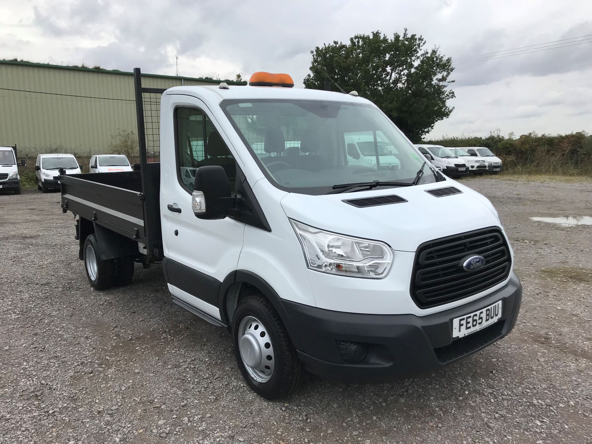 2015 Ford Transit  350 L2 SINGLE CAB TIPPER 100PS EURO 5 (FE65BUU)