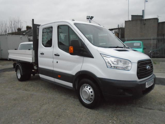 2015 Ford Transit T350 D/CAB TIPPER EURO 5 *VALUE RANGE VEHICLE - CONDITION REFLECTED IN PRICE* (FE65BUV)