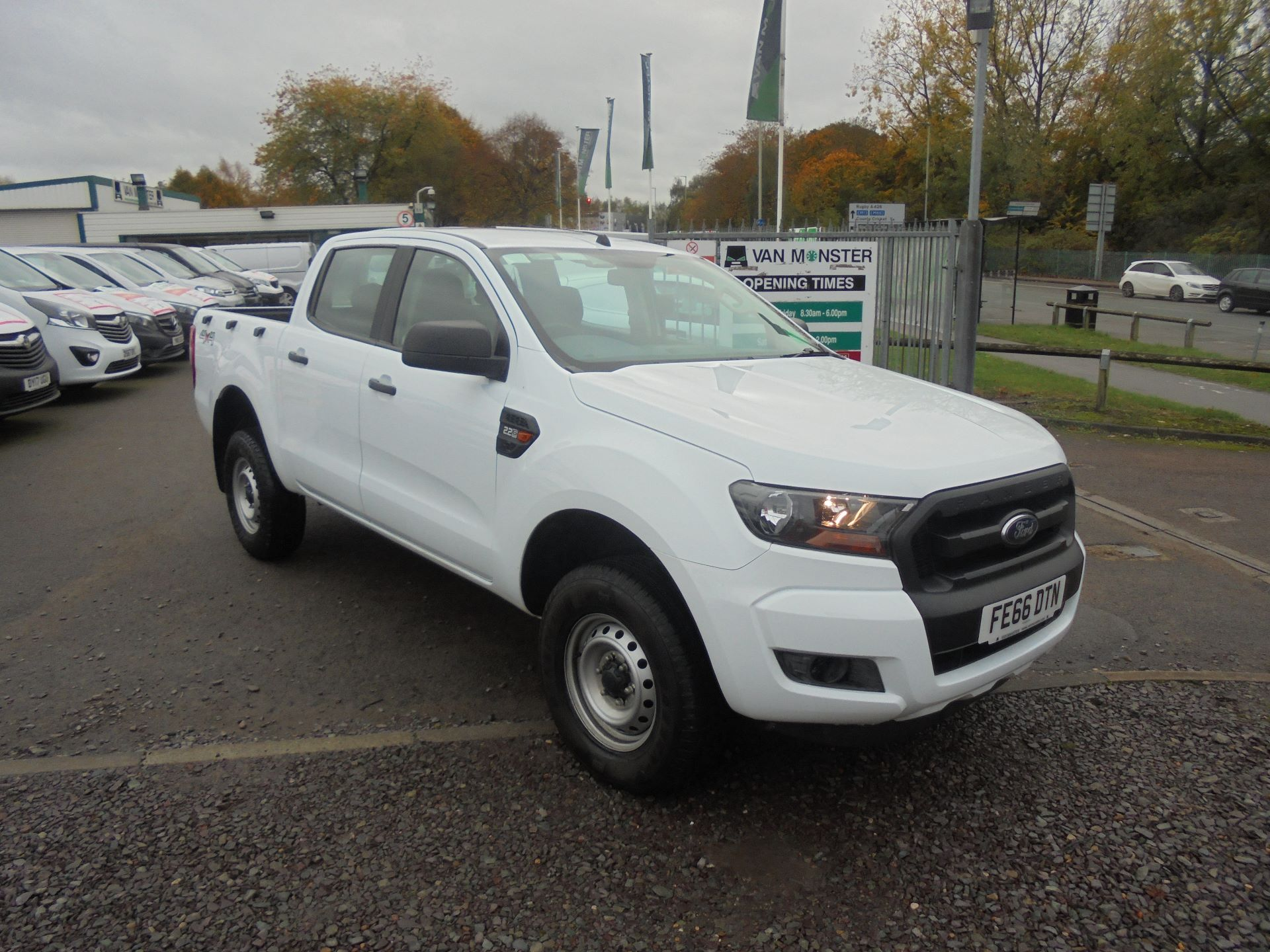 2016 Ford Ranger PICKUP 4X4 XL 2.2 TDCI D/C 160PS EURO 6 (FE66DTN)