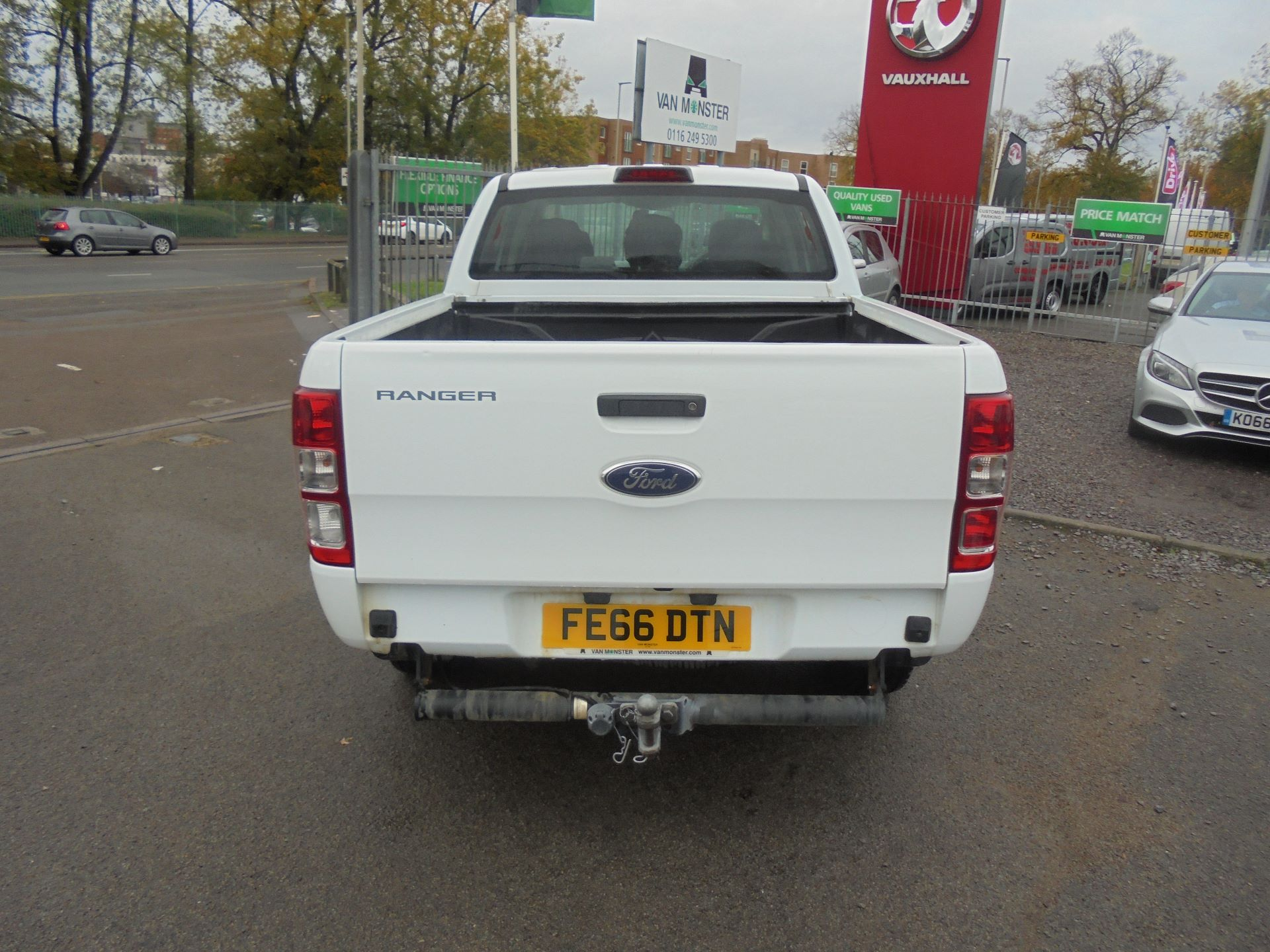 2016 Ford Ranger PICKUP 4X4 XL 2.2 TDCI D/C 160PS EURO 6 (FE66DTN) Image 4