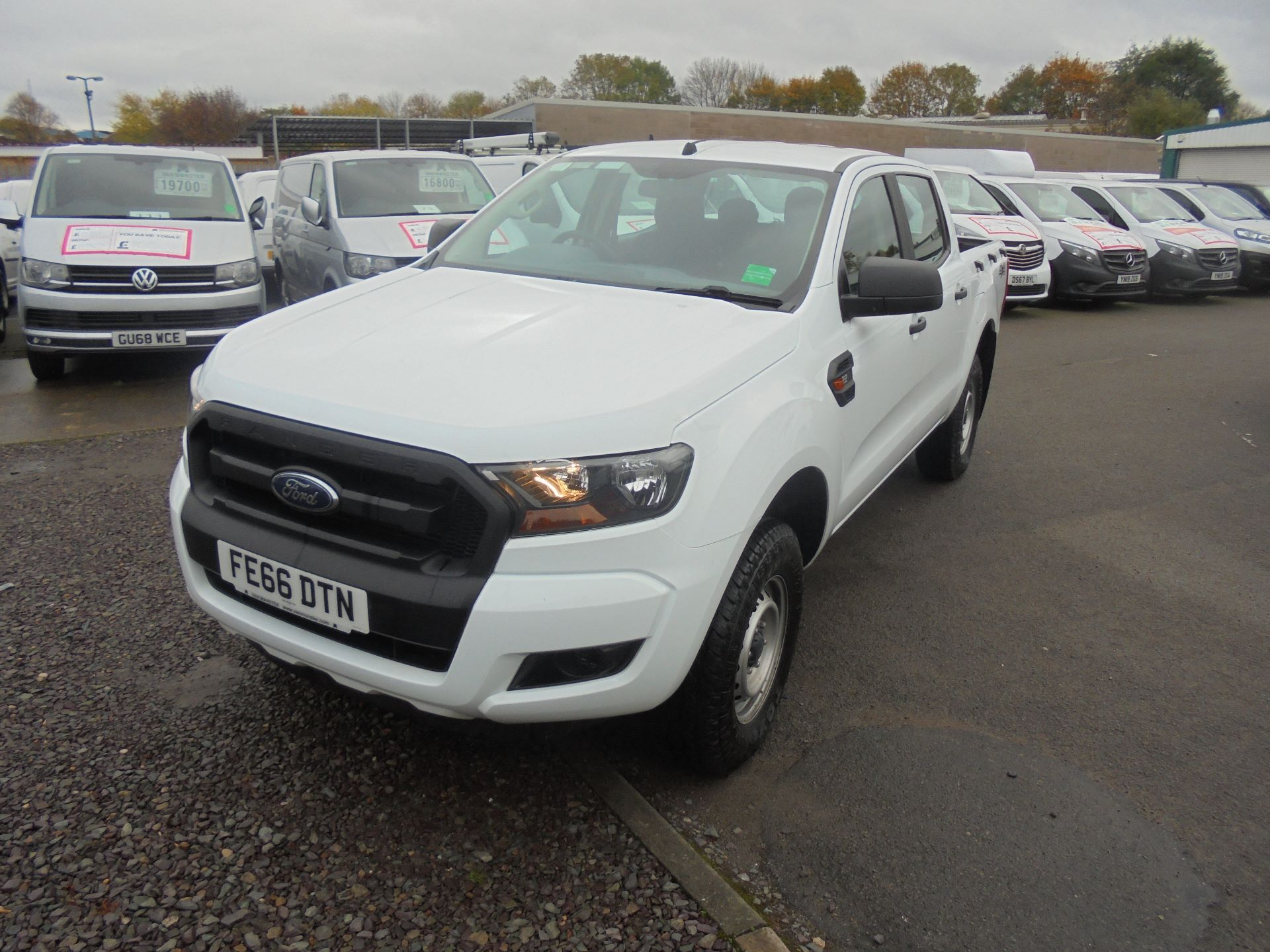 2016 Ford Ranger PICKUP 4X4 XL 2.2 TDCI D/C 160PS EURO 6 (FE66DTN) Image 8