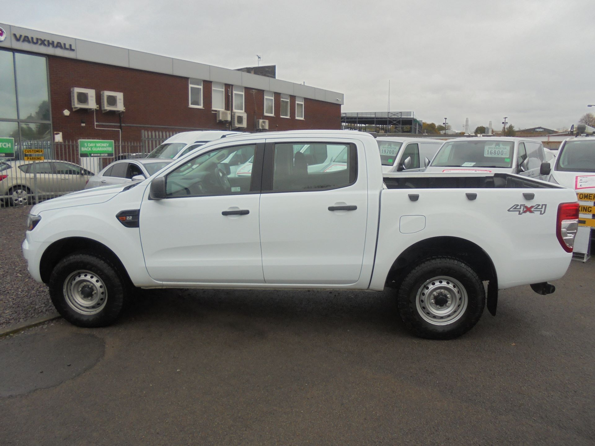 2016 Ford Ranger PICKUP 4X4 XL 2.2 TDCI D/C 160PS EURO 6 (FE66DTN) Image 7