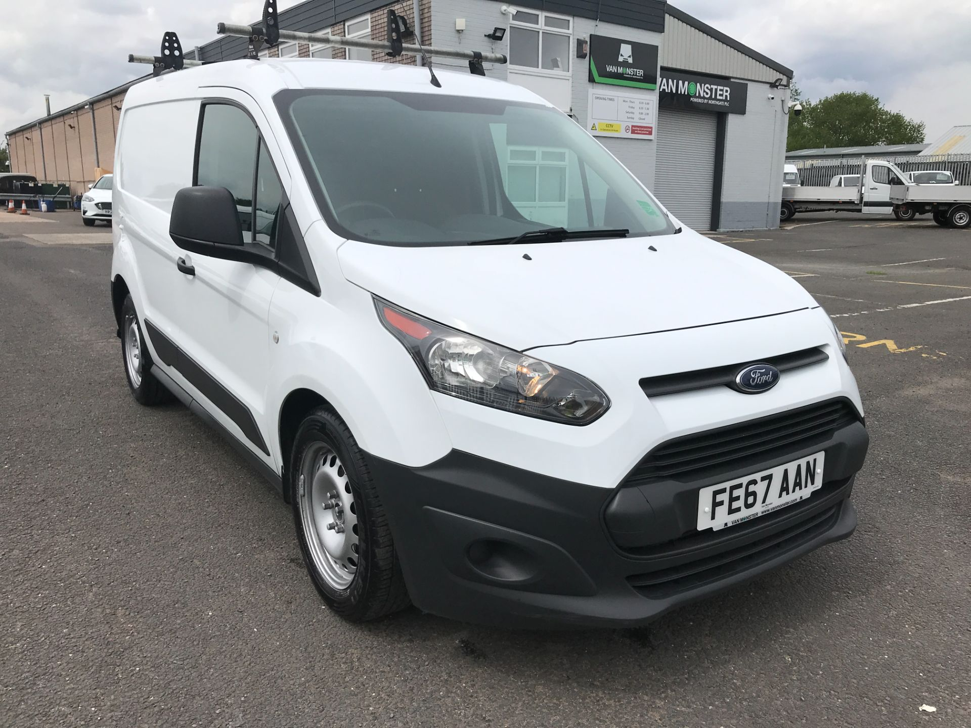 2017 Ford Transit Connect T200 L1 H1 1.5TDCI 75PS EURO 6 (FE67AAN)