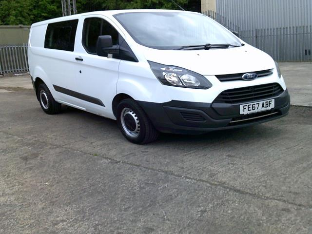 2017 Ford Transit Custom 290 L1 DIESEL FWD 2.0 TDCI 105PS LOW ROOF DOUBLE CAB VAN EURO 6 (FE67ABF)