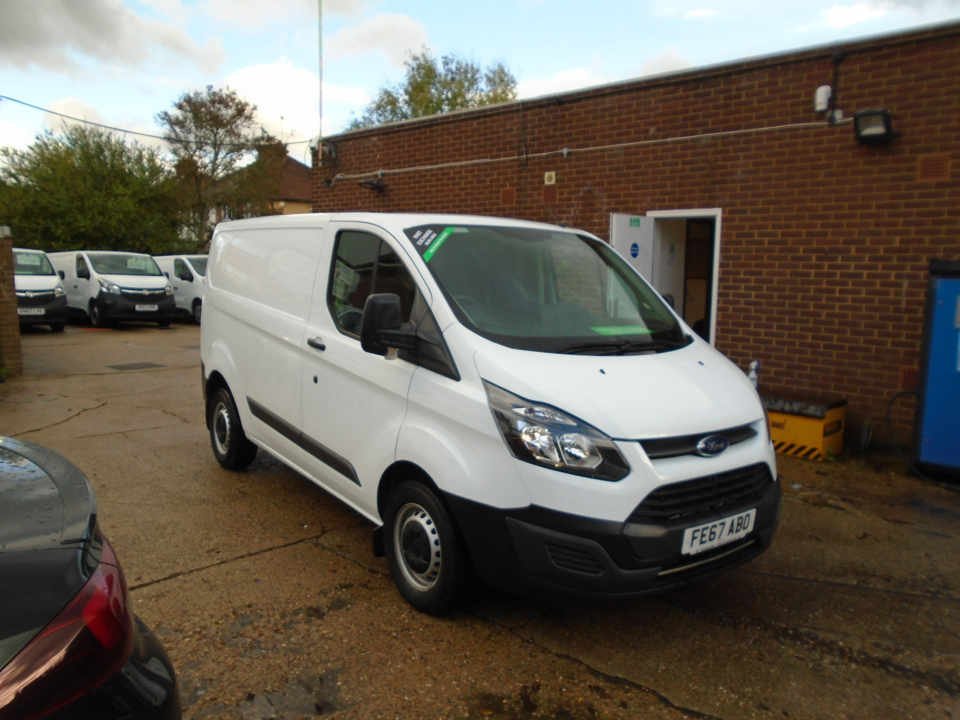 2017 Ford Transit Custom 2.0 Tdci 105Ps Low Roof Van(EURO 6) (FE67ABO)
