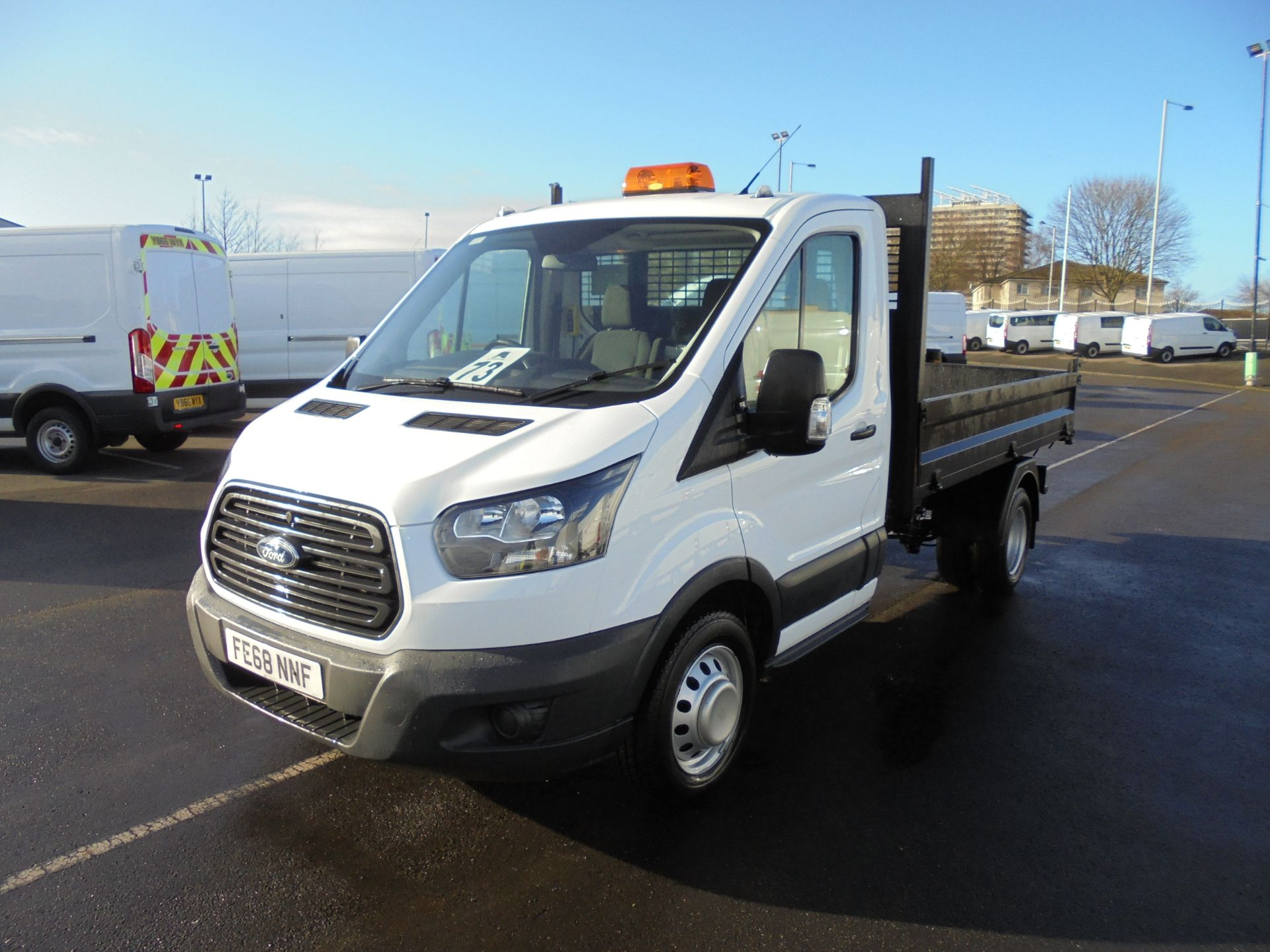 2018 Ford Transit 350 2.0 Tdci 130Ps L2 Tipper (FE68NNF) Image 3