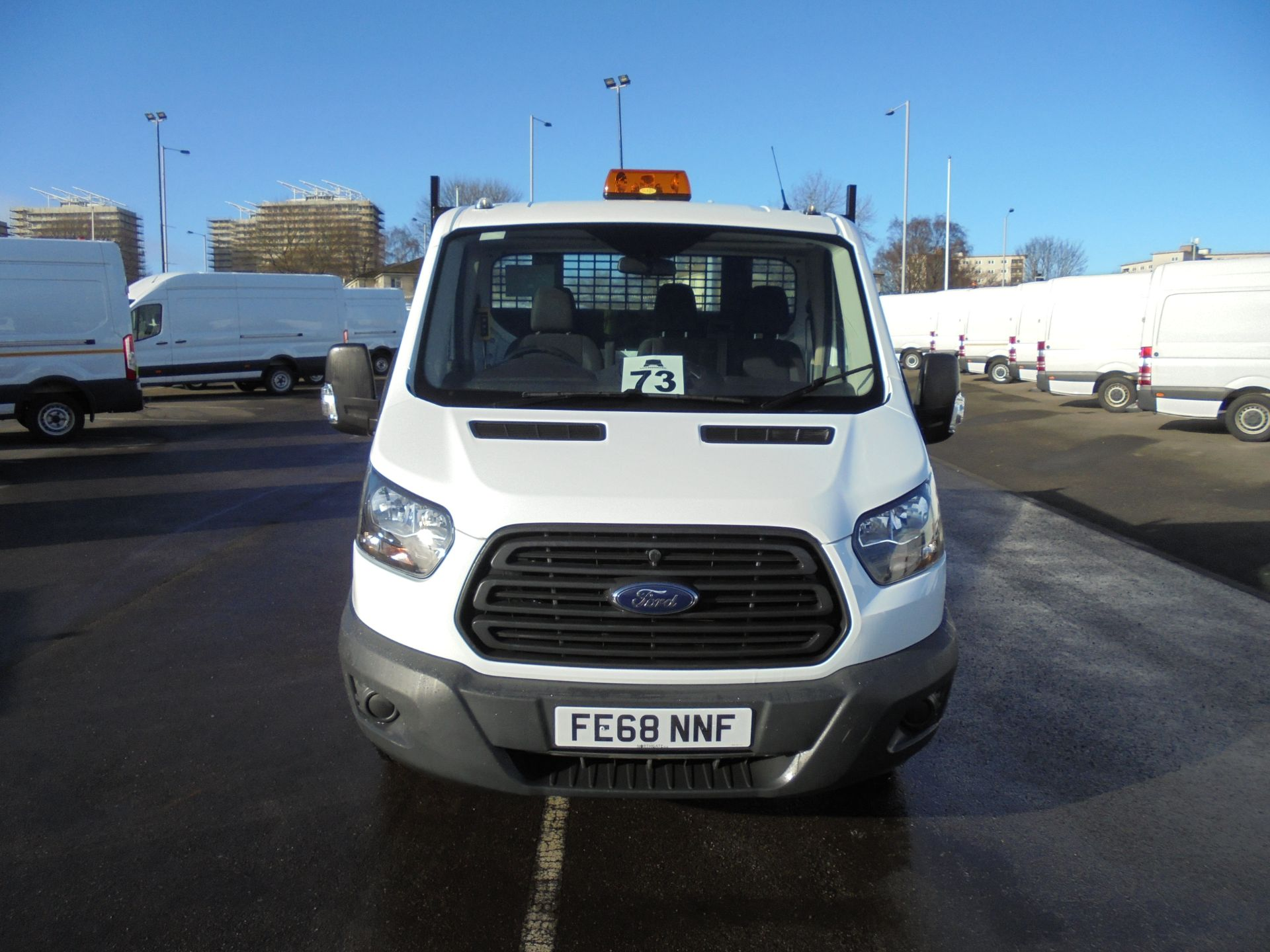 2018 Ford Transit 350 2.0 Tdci 130Ps L2 Tipper (FE68NNF) Image 2