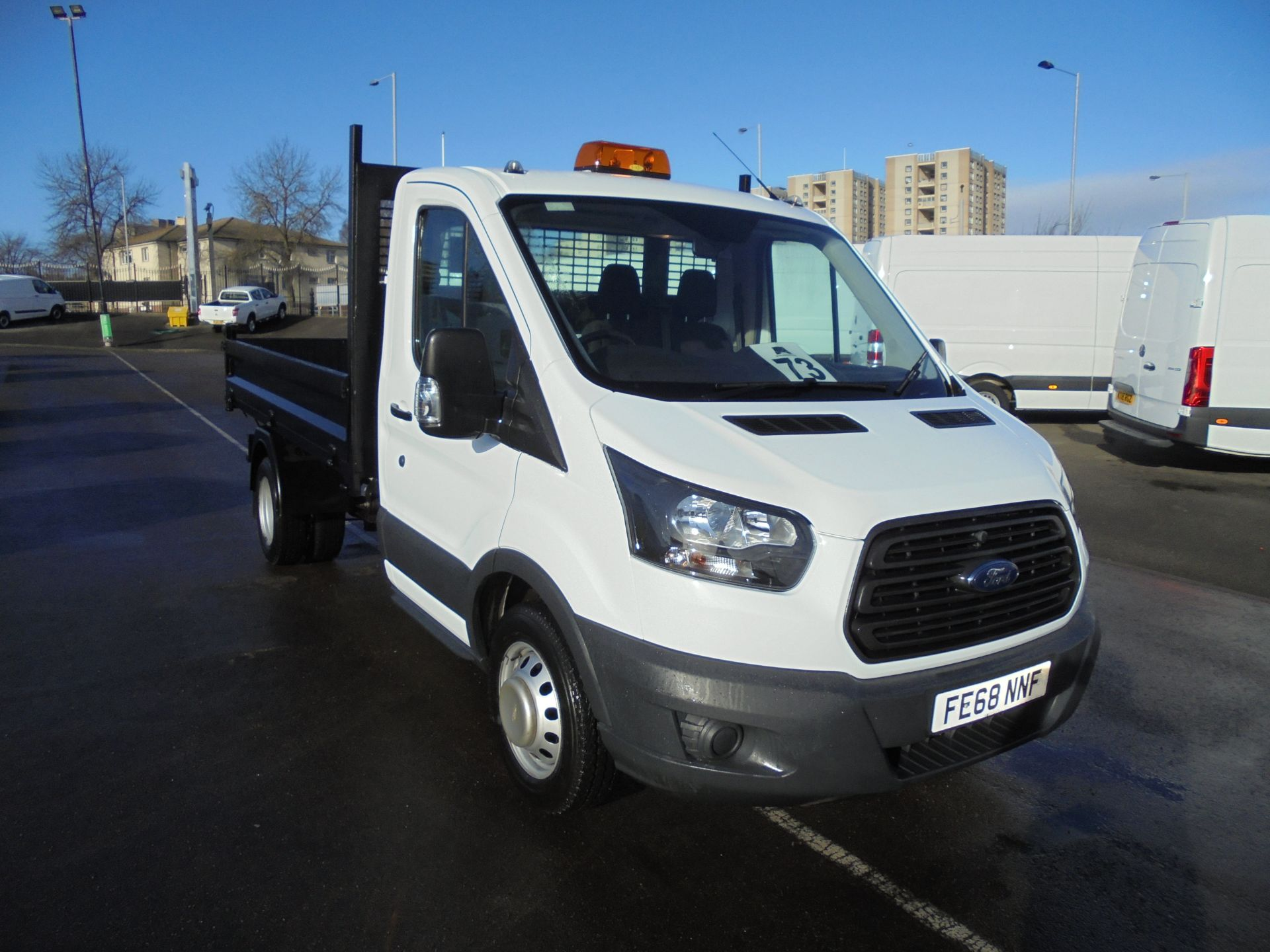 2018 Ford Transit 350 2.0 Tdci 130Ps L2 Tipper (FE68NNF) Image 1