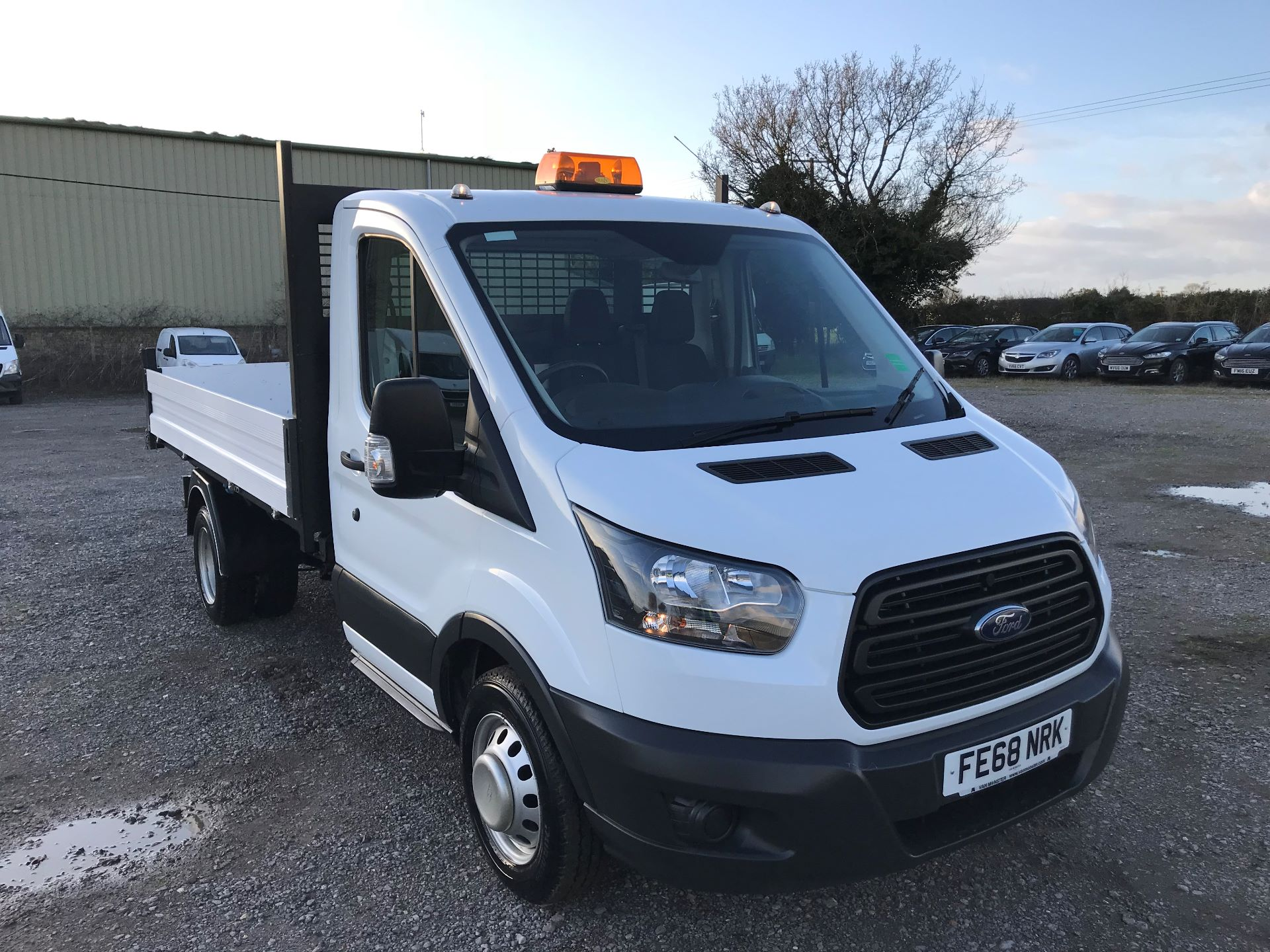 2018 Ford Transit  350 L2 SINGLE CAB TIPPER 130PS EURO 6 (FE68NRK)