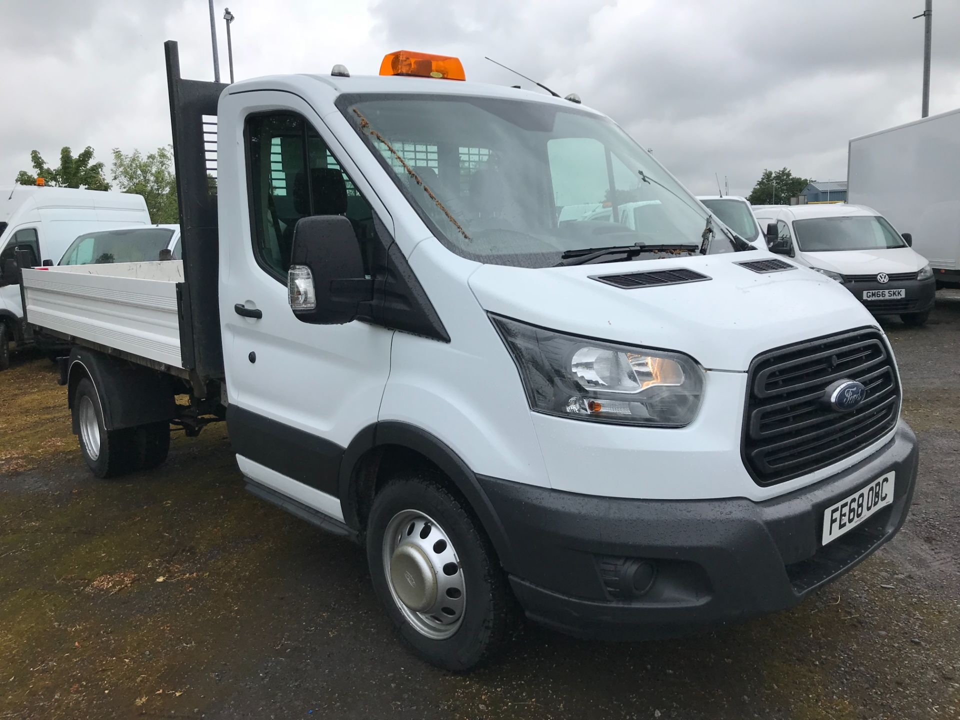 2018 Ford Transit 2.0 Tdci 130Ps Chassis Cab (FE68OBC)