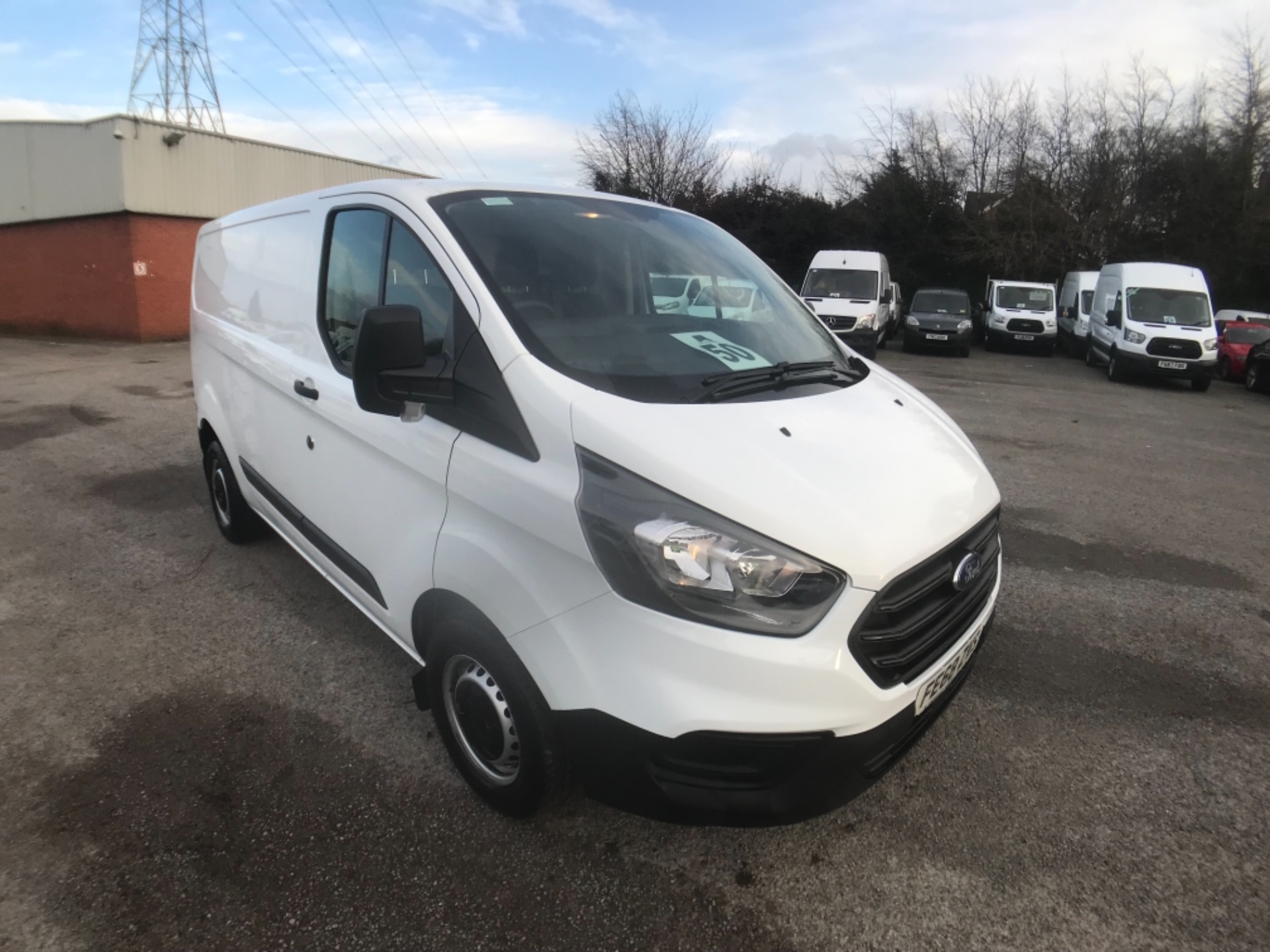 2018 Ford Transit Custom  300 L1 DIESEL FWD 2.0 TDCI 105PS LOW ROOF VAN EURO 6 (FE68ZVS)
