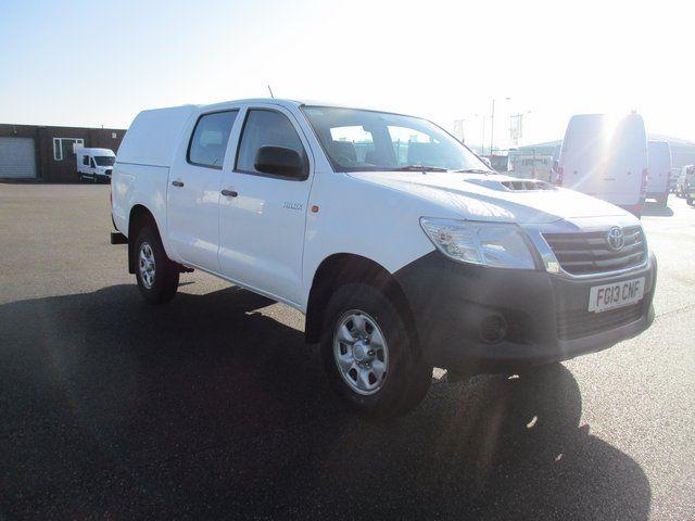 2013 Toyota Hilux 2.5 4 HL 2 D/CAB 144 BHP 4X4. AIR CON (FG13CNF)