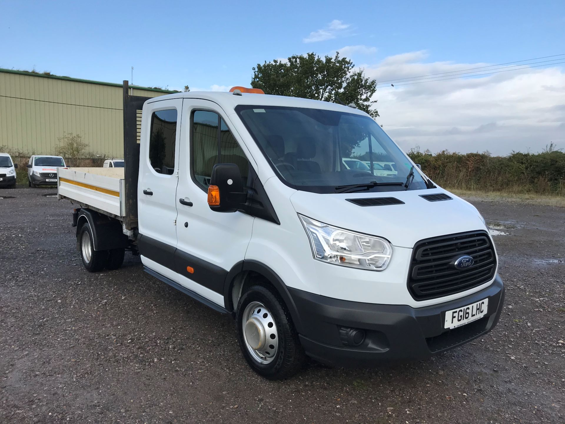 2016 Ford Transit 350 L3 DOUBLE CAB TIPPER 125PS EURO 5 (FG16LHC)