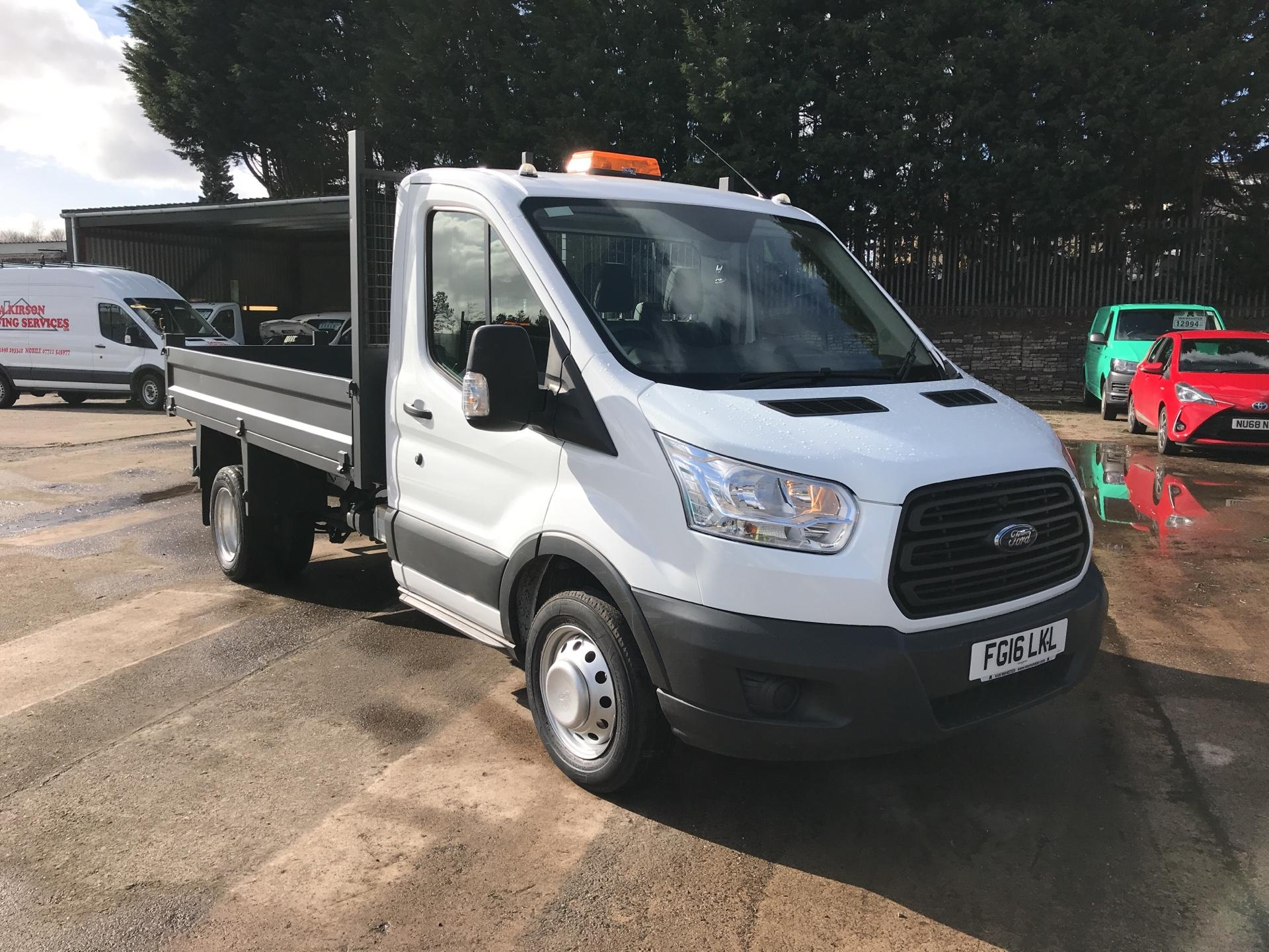 2016 Ford Transit 350 L2 SINGLE CAB TIPPER 125PS EURO 5 (FG16LKL)