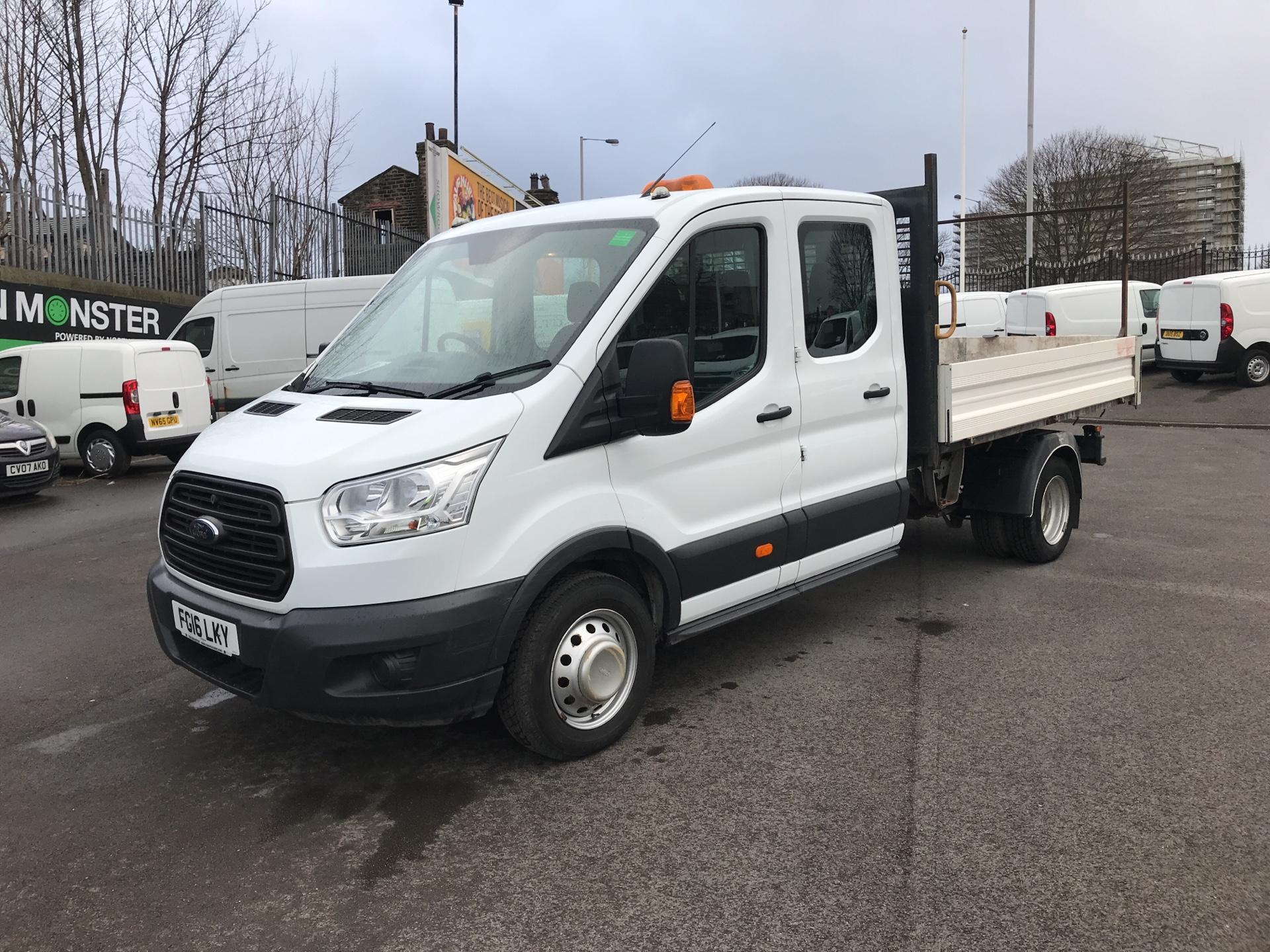 2016 Ford Transit 2.2 TDCI LWB DOUBLE CAB TIPPER EURO 5  (FG16LKY) Image 7