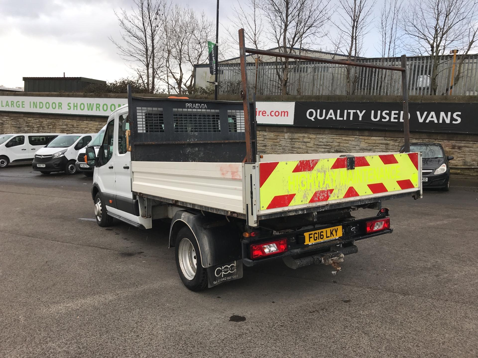 2016 Ford Transit 2.2 TDCI LWB DOUBLE CAB TIPPER EURO 5  (FG16LKY) Image 5