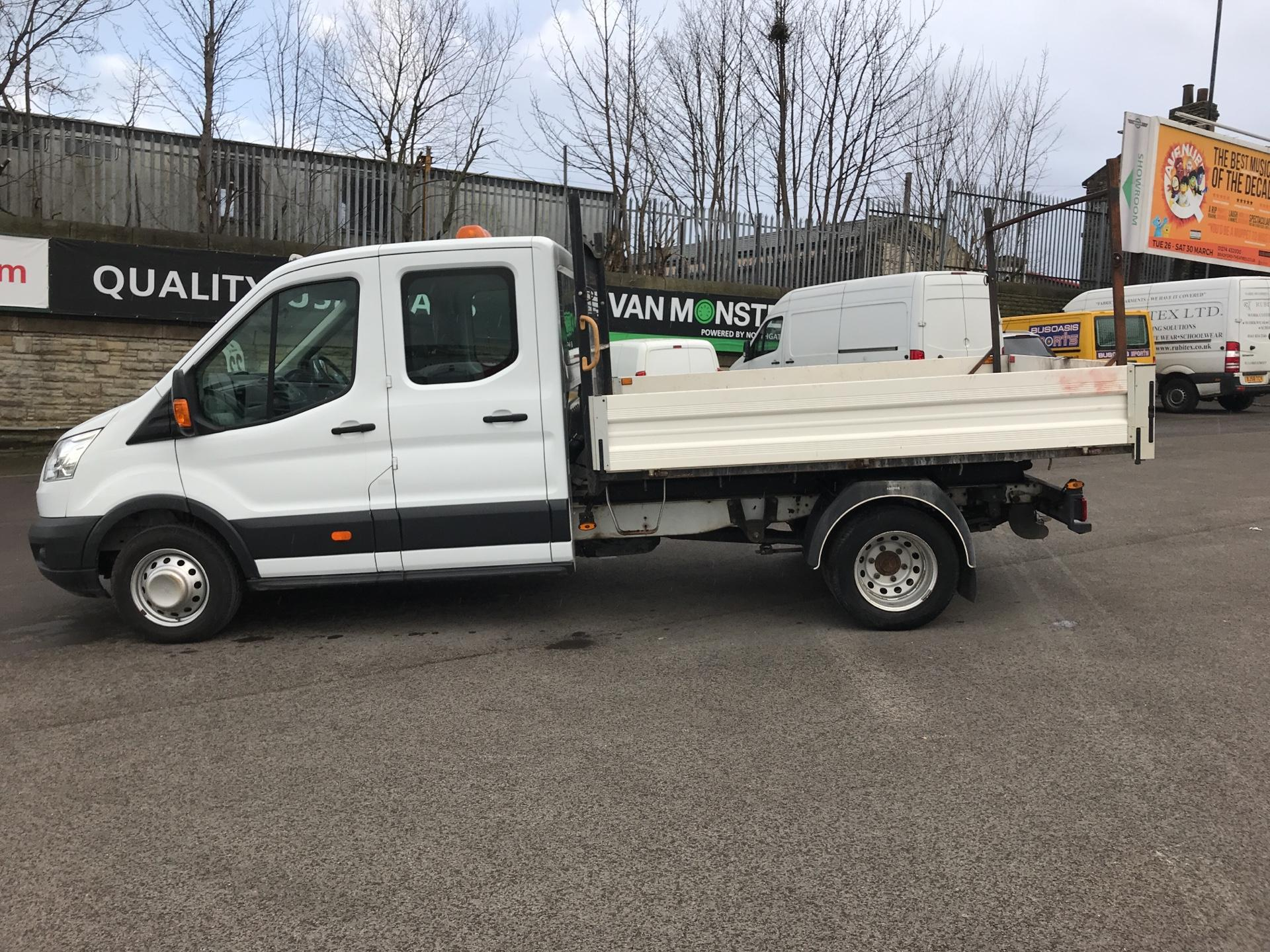 2016 Ford Transit 2.2 TDCI LWB DOUBLE CAB TIPPER EURO 5  (FG16LKY) Image 6