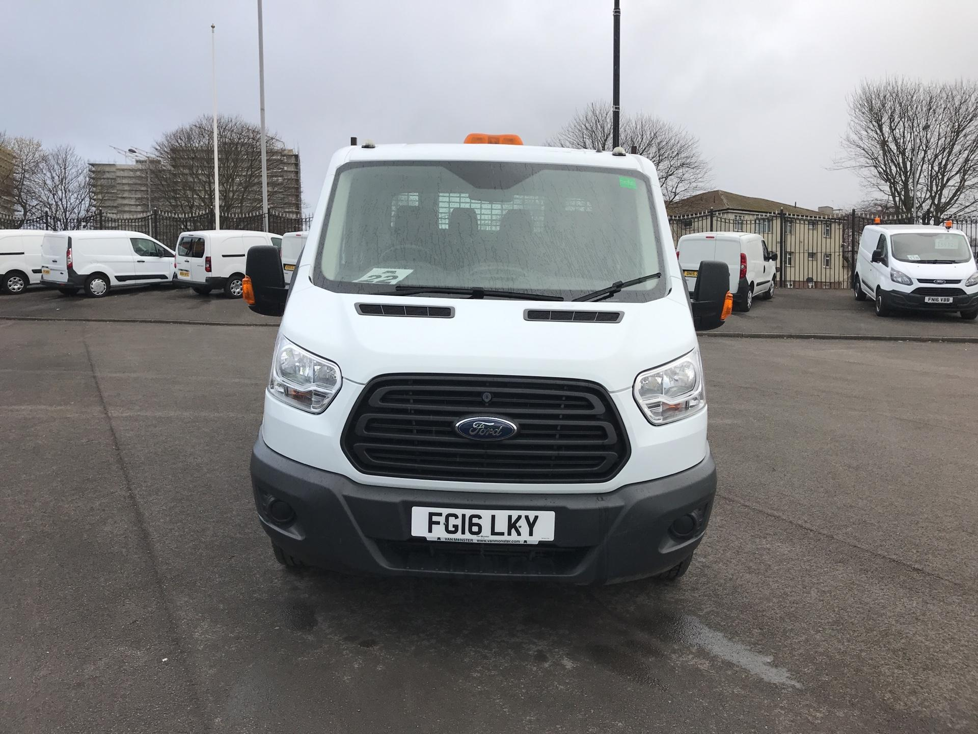 2016 Ford Transit 2.2 TDCI LWB DOUBLE CAB TIPPER EURO 5  (FG16LKY) Image 8