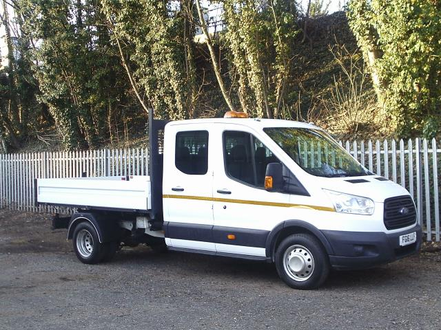2016 Ford Transit 350 L3 DOUBLE CAB TIPPER 155PS EURO 5 (FG16LLF)
