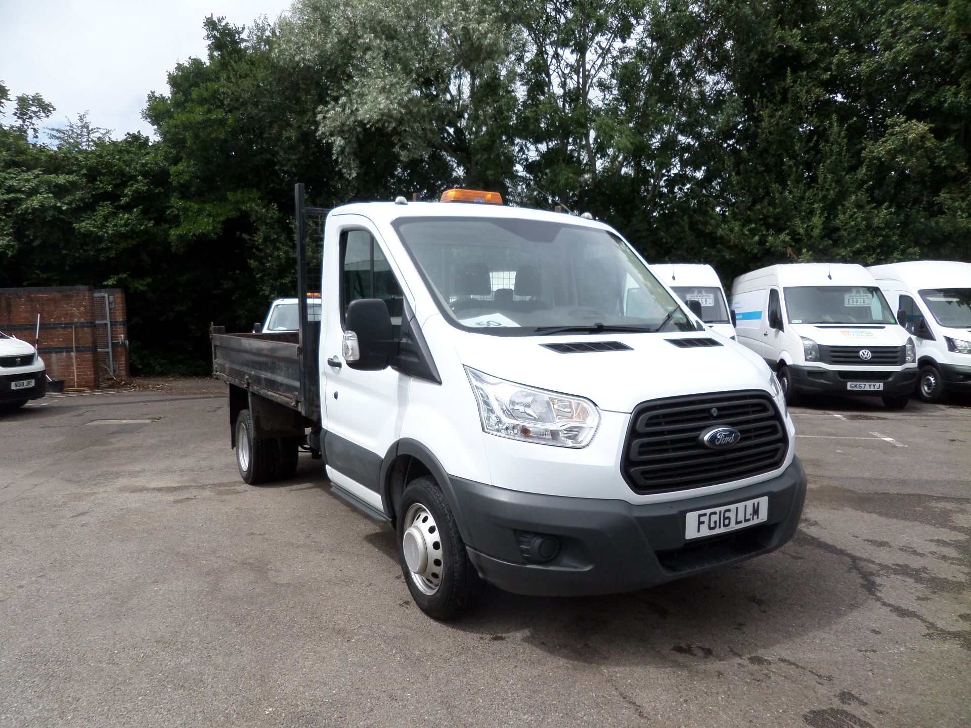 2016 Ford Transit 2.2 Tdci 125Ps Single Cab Tipper Euro 5 (FG16LLM)