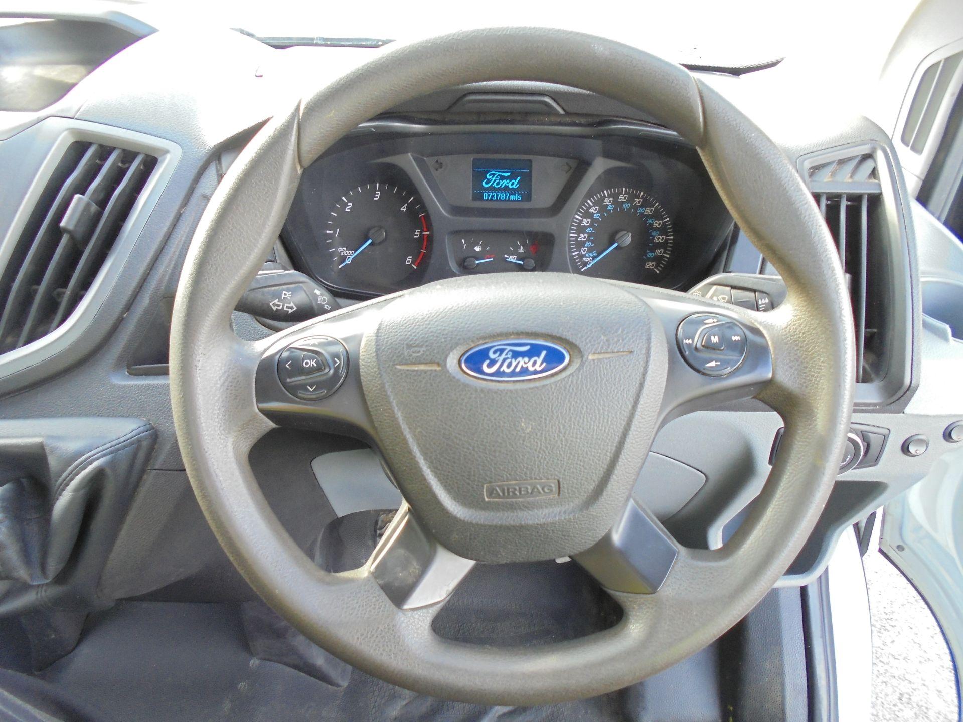 2016 Ford Transit 2.2 Tdci 125Ps L4 DROPSIDE /TAIL LIFT (FG16LME) Image 14