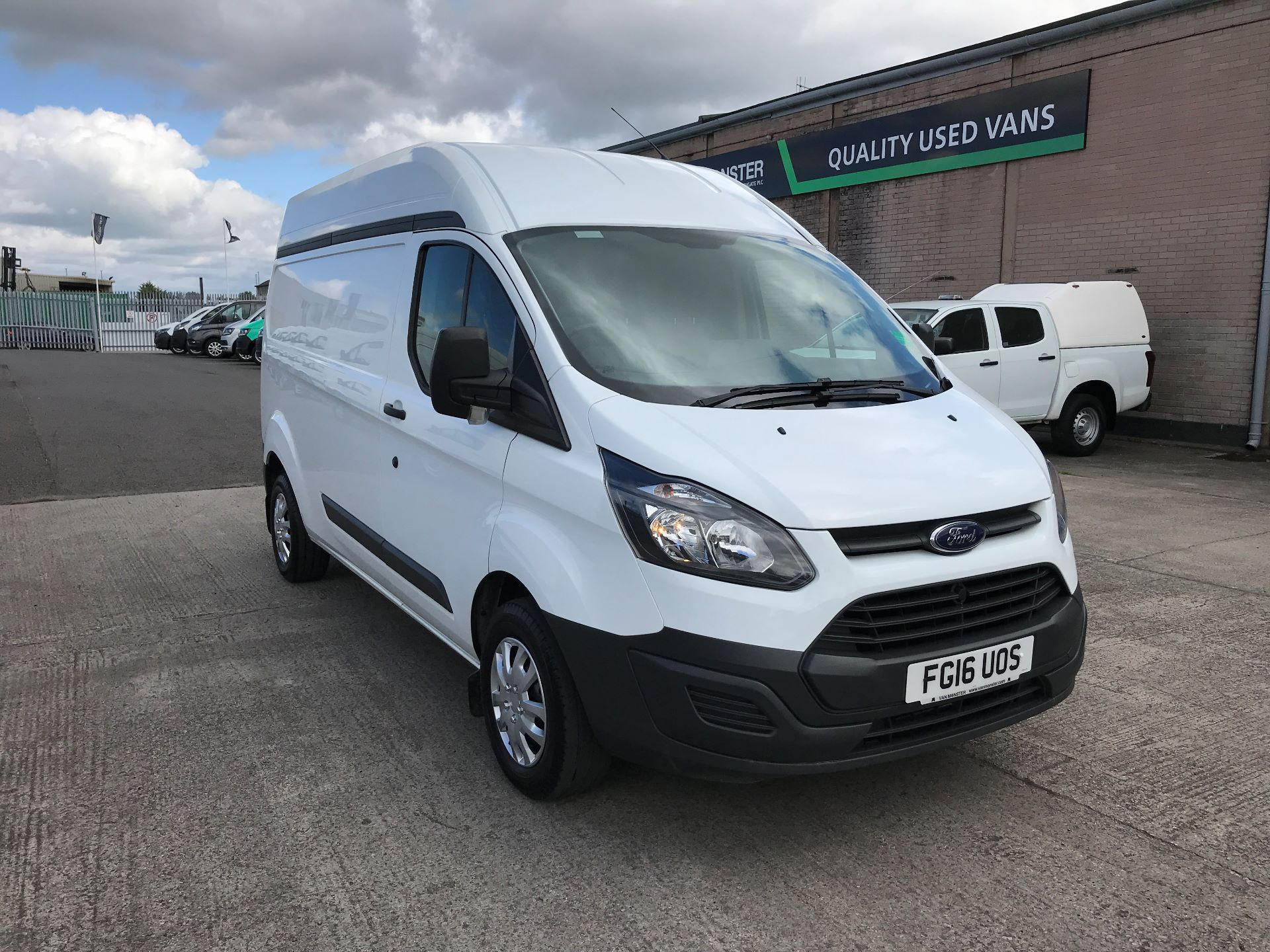 2016 Ford Transit Custom 290 L2 HIGH ROOF 2.2TDCI 100PS EURO 5 (FG16UOS)