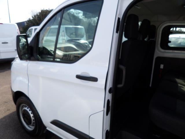 2016 Ford Transit Custom 2.2 Tdci 100Ps Low Roof D/Cab Van (FG16URE) Image 14